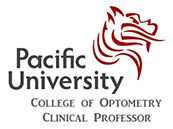 Pacific University College of Optometry logo
