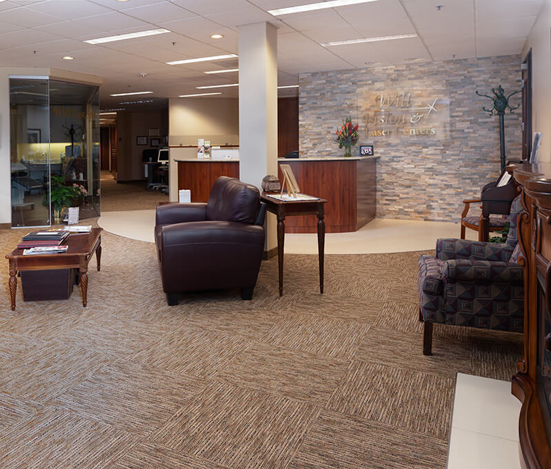 Will Vision and Laser Centers front office and lobby